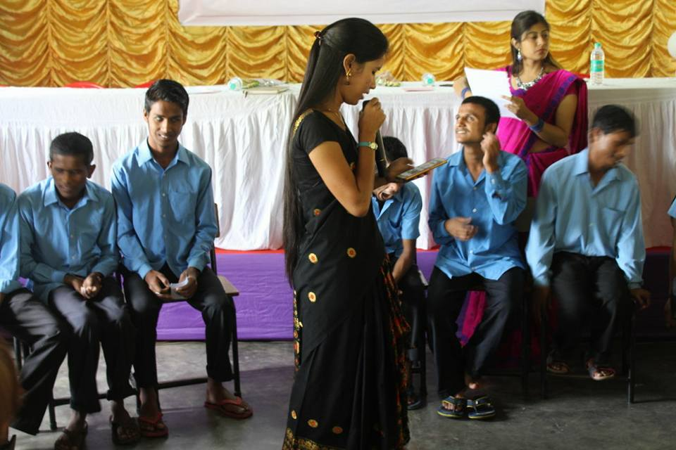 Activities in Specially abled Schools of Assam